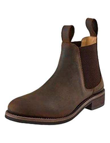 Old West Boots Harley Distress Brown 9.5