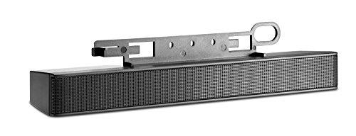 HP NQ576AA - Barra de altavoz de pantalla plana, color negro