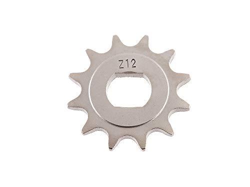 Renner Automotive Ritzel, kleines Kettenrad, 12 Zahn - für Simson S51, S70, S53, S83, KR51/2 Schwalbe, SR50, SR80