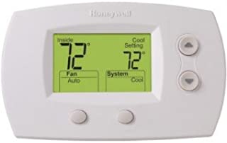 TH5220D1003 Thermostat FocusPRO 5000 Non-Programmable - Standard Screen-2PK