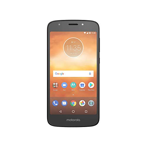 Motorola Moto E5 Play (16GB) 5.2' HD Display, 4G LTE (GSM) Factory Unlocked (GSM) Smartphone, Black (Renewed)
