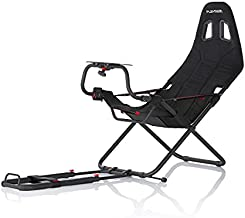 Playseat Challenge Black   Popular foldable budget racing chair   Set up in several seconds  Unique foldable design  Seat is very compact, stable and adjustable