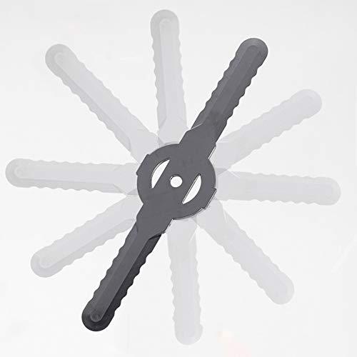 Fansipro 5 PCS Plastic Mower Grass Trimmer Blades for Qualcast Bosch Gtech Lawnmower, 140 x 33 x 2 MM, Gray