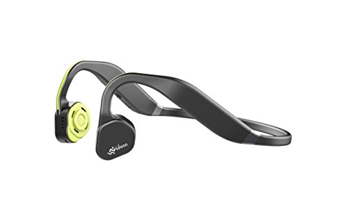 Vidonn F1 Ohrbügel Binaural Kabellos Grau, Gelb Mobiles Headset - Mobile Headsets (Kabellos, Ohrbügel, Binaural, Ohraufliegend, 20-20000 Hz, Grau, Gelb)