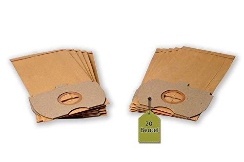 Staubsaugerbeutel passend für Siemens VS 10A00 - 19A99 Serie T, 20 Staubbeutel + 4 Mikro-Filter ähnlich wie Original Siemens Staubsaugerbeutel VZ 92 N 90, VZ 92 R 90, Typ N, R, VX 9090, VZ 9290, VZ 9293
