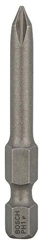 Bosch 2 607 001 526 - Punta de atornillar extra dura - PH 1, 49 mm (pack de 3)