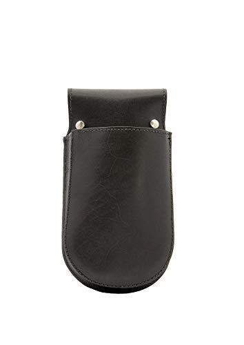 Xapron Kelnhouder voor leren schorten, zwart 20x14cm