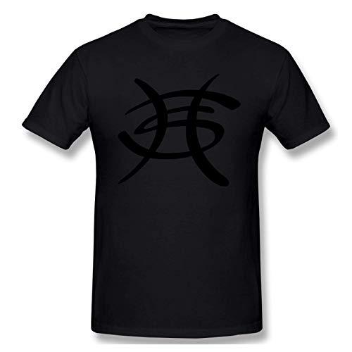 IUBBKI Camiseta básica de Manga Corta para Hombre Men Print with Heroes del Silencio Fashion Short Sleeve T-Shirt