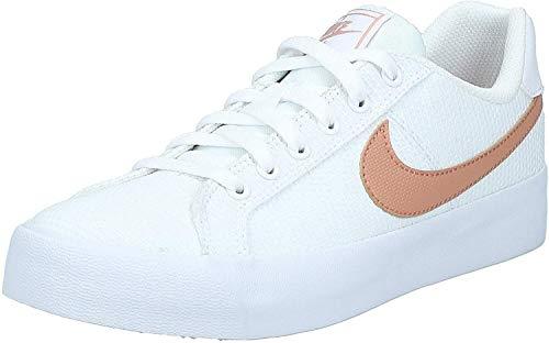 Nike Damen WMNS Court Royale Ac Se Tennisschuhe, Mehrfarbig (White/Rose Gold 000), 40.5 EU