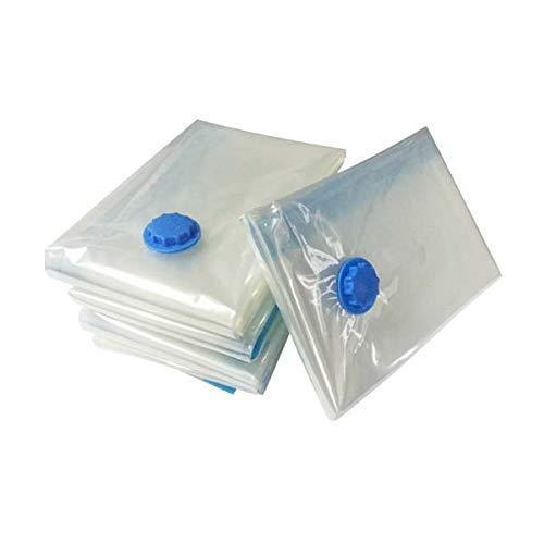 AlpoHome Vakuumbeutel - Robuste Kompressionsbeutel zur Aufbewahrung von Kleidung, Bettdecken und Bettwäsche -3 TLG Set 1 Größe 40 * 60 - Vakuum Aufbewahrungsbeutel für Kleidung.