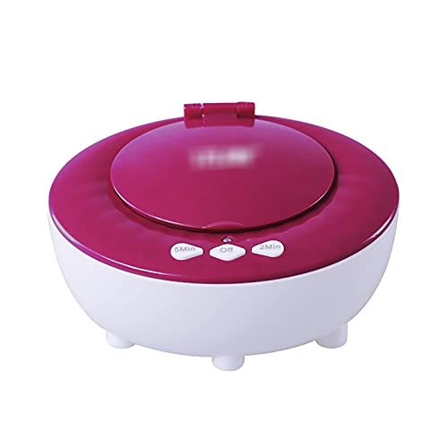 QERNTPEY Contact Lens Cleaner Contact Lens Cleaning Machine Automatically Cleans Contact Lens Cases Occupies Less Space (Color : Red, Size : 10x7.5x5.1cm)