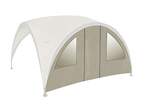 bo-garden 4472221with Door for Party Shelter Side Window Sunshade 370x 239cm Polyester Grey Size M