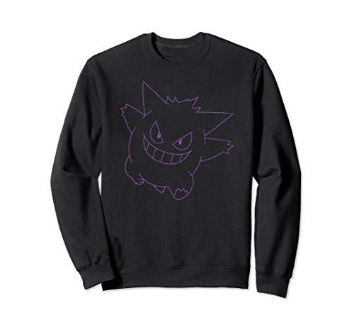 Pokemon Gengar Big Face Sweatshirt