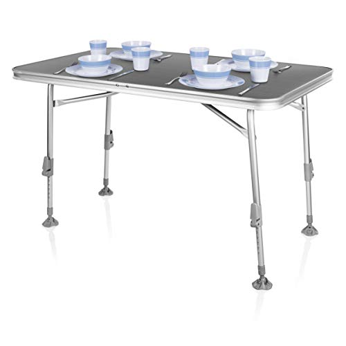 Table de camping Campart Travel TA-0859 – 115 x...