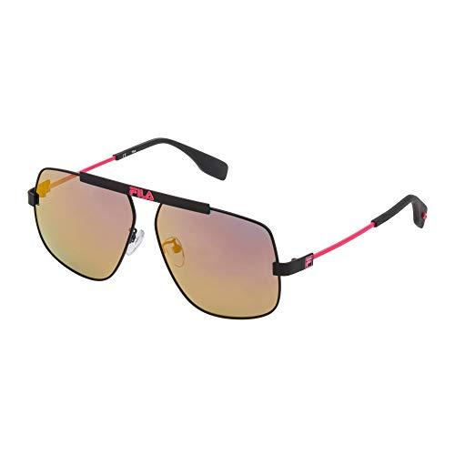 Fila gafas de sol SF9994 531R gafas de sol Unisex Negro de la lente rojo tamaño: 60 mm