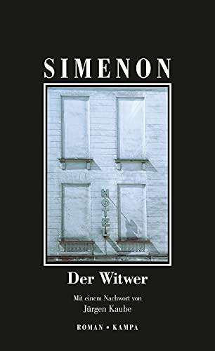 Der Witwer (Georges Simenon 95) (German Edition)