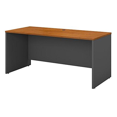Bush Business Furniture Series C 60W x 24D Credenza Desk in Natural Cherry