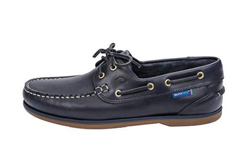 Quayside Unisex-Erwachsene Clipper Bootschuhe, Blau (Navy 001), 40 EU