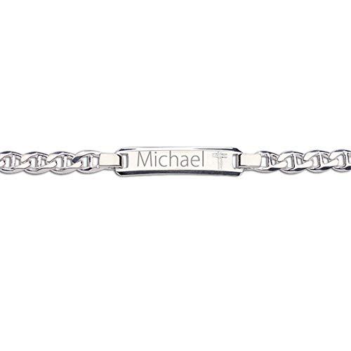Personalized Engraved Boys Bracelet