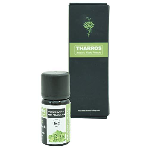 Tharros Organic Oregano Oil for Intake - 100% Essential Oregano Oil from Greece, Origanum Vulgare Hirtum, 10 ml in Premium Organic Quality, Carvacrol, Organic Oregano Oil