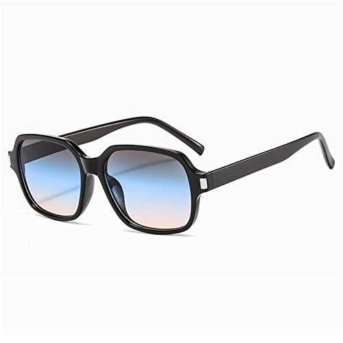 SSN Gafas De Sol para Hombres Gafas De Estilo Retro Femenino Versión Coreana De La Personalidad De Moda Retro Redondo Face Street Shooting (Color : D)