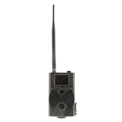 IPOTCH Cámara de Cazar Rastro HC-300M 12MP 2G MMS GPRS HD 1080P Agarrar Blando Peces Industria Piscícola