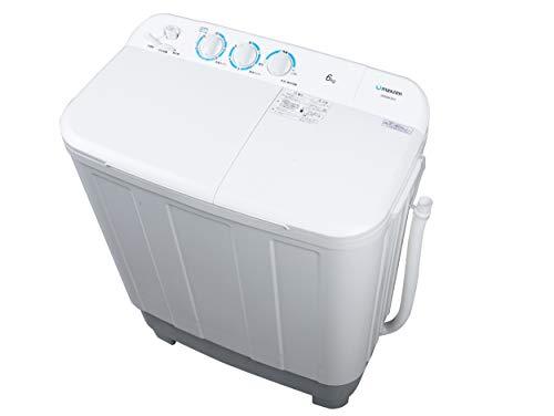 maxzen 洗濯機 6kg 二層式洗濯機 二槽式洗濯機 一人暮らし コンパクト 引越し 単身赴任 新生活 タイマー 2層式 2槽式 二層式 二槽式 給水切替 小型洗濯機 JW60KS01