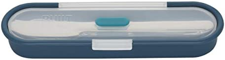 BUILT Gourmet Stainless Steel Utensils With Case 4 Piece Teal product image
