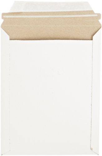 Pratt MJ-2 Self-Seal Stay Flat Mailer, White, 7