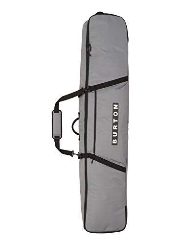 Burton Unisex – Erwachsene Wheelie Gig Bag Board, Gray Heather Print, 156