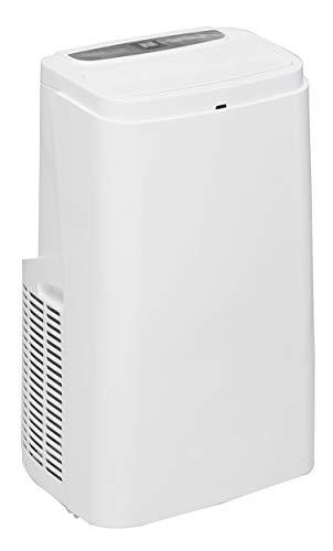 Camry CR 7907 Klimaanlage Mobil, 3 Betriebsarten, 3 Lüftergeschwindigkeiten, Entfeuchter, Fernbedienung, Timer, Tragbare Klimagerät für Räume bis 30 qm, 12.000 BTU/h, Energieklasse A, 1350W