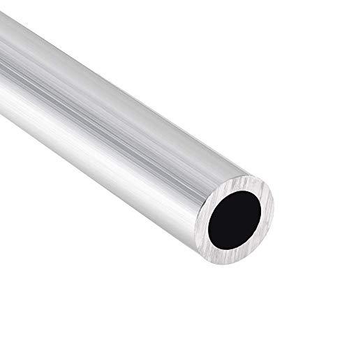 Aluminium Rohr gerade Rundrohr Aluminium Rohr 300mm Länge 15mm Außendurchmesser 10mm Innendurchmesser (2 Stück)