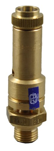 TÜV Sicherheitsventil Überdruckventil Kompressor 11 bar G 1/2