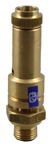 TÜV Sicherheitsventil Überdruckventil Kompressor 16 bar G 1/4
