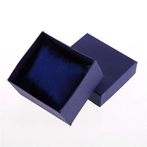 Chendunchishi 1 stuks. Opbergdoos voor horloges, sieraden, opbergdoos, verpakkingsdoos, volledig gekleurde doos, neutraal papier/sieraden, bewaardoos, horlogedozen
