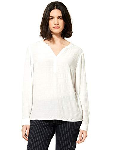 Cecil Damen 342403 Bluse, Pure Off White, XL