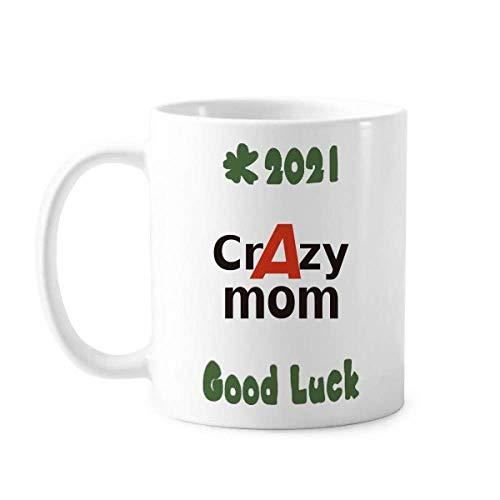 Breve mejor fresco mamá mamá buena suerte 2021 taza de cerámica café taza de porcelana taza vajilla