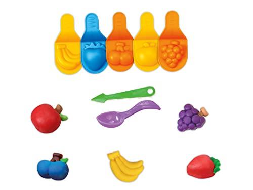 Teorema Giocattoli- Cubo de plastilina 480 g para niños, Colores Surtidos (74193)