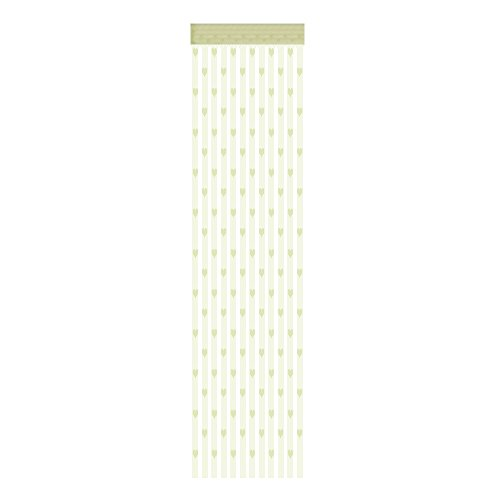 Youyu77 Home Oranment ,50x200cm Love Heart String Curtain Window Door Divider Sheer Curtain Valance, Home Decor Easter and Eid Onsale