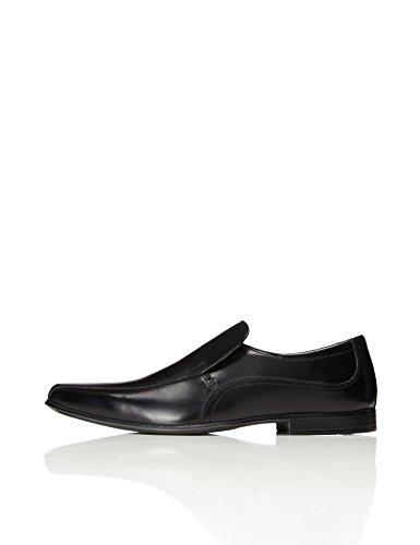 find. Zapato Clásico de Piel para Hombre, Negro (Black), 43 EU
