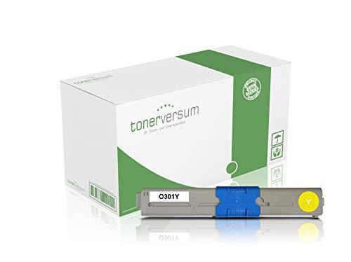 Toner compatibel met Oki 44973533 geel voor C301 C301dn C321dn MC332dn MC342 MC342dn MC342dnw laserprinter geel