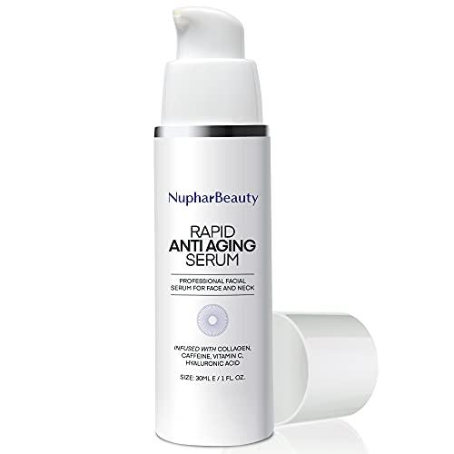 Rapid Anti-Aging Serum - Rapid Anti Wrinkle Serum, Advanced Formula, Professional facial serum for Eye Bags, Dark Circles, Wrinkles, Crows Feet, fine lines (30 mL)