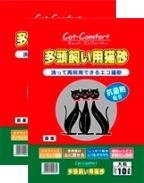 キャットコンフォート 大粒 10L ≪2袋セット≫ (2P-9805)