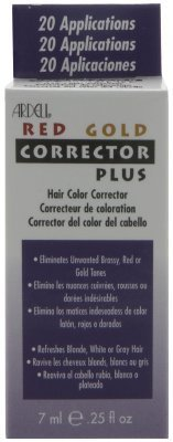 Ardell Hair Color Corrector, Red and Gold, 0.25 Ounce by Ardell (English Manual)