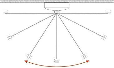 ELECTROPRIME Rope Clothes Line Indoor Stainless Steel Hanger Telescopic Dryer Outdoor