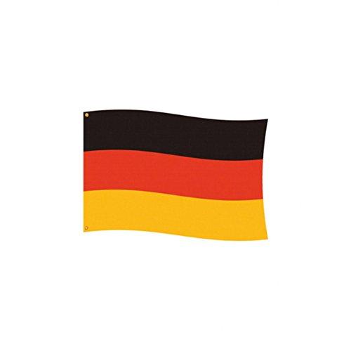 Amscan 400200 - Fahne Deutschland, Flagge, Fußball, Weltmeisterschaft, Party