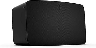 Sonos Five - The High-Fidelity Speaker For Superior Sound - Black