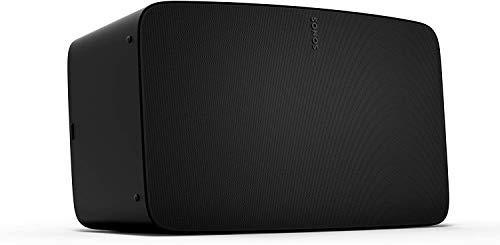Sonos Five altavoz inteligente y potente, multiroom, calibración Trueplay, Control App Sonos, Compatible iOS AirPlay 2, Negro