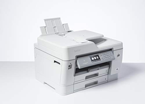 Brother MFC-J6945DW - Impresora multifunción de Tinta A3 (WiFi, fax, escáner, copiadora, dúplex automático) Color Gris