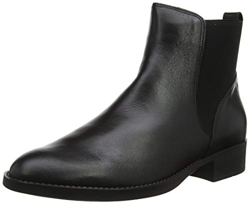 Bianco Damen BFALVA Leather Chelsea Stiefeletten, Schwarz (Black 100), 38 EU